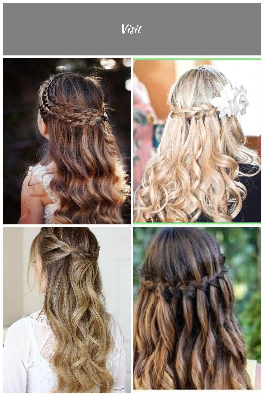 Festliche Frisuren Firmung Frisuren Konfirmation Frisuren Firmung Frisuren Firmung Curly Girl Hairstyles Light Hair Grow Long Hair