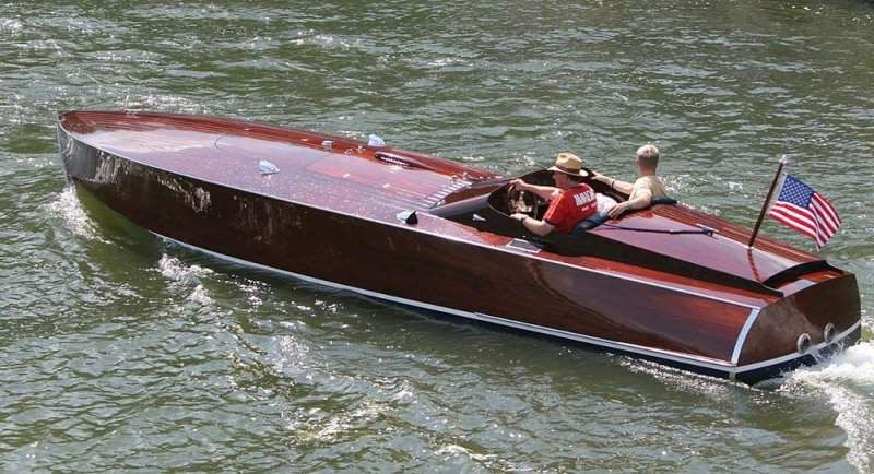 Post Photos Of Wooden Speedboats