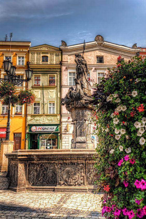 Fontana a Świdnica, Polonia Polonia, Luoghi, Paesaggi