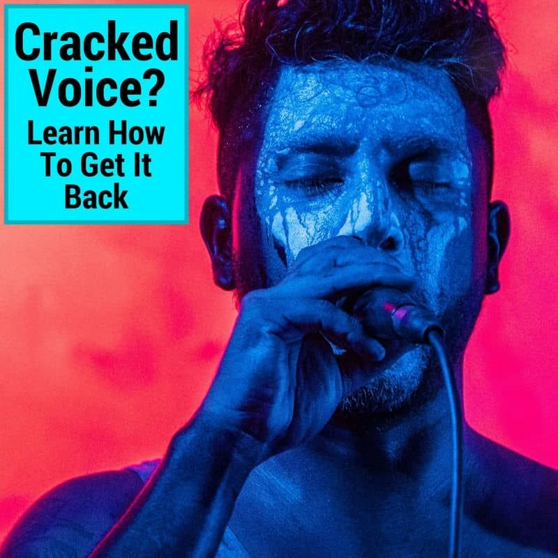 Cracked Voice? How To Get Back Your Singing Voice - Musicaroo