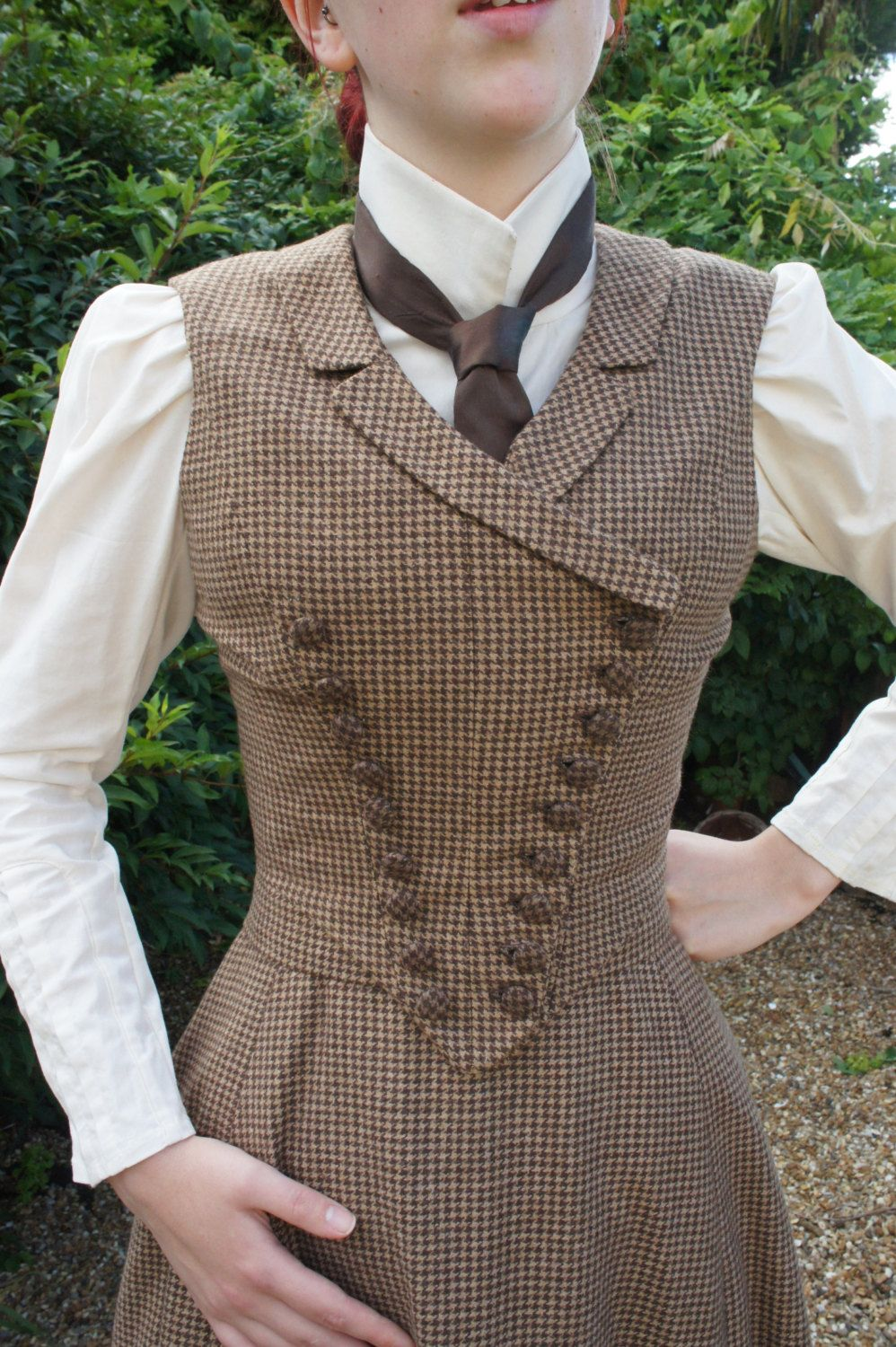 Victorian Walking Dress Victorian Riding by everybodylovesluci #victorian