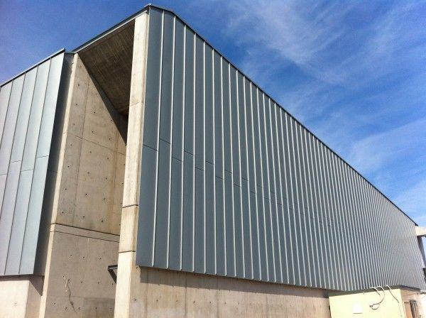 Zinc Fa 231 Ade Cranbrook Jnr School Cladding Using