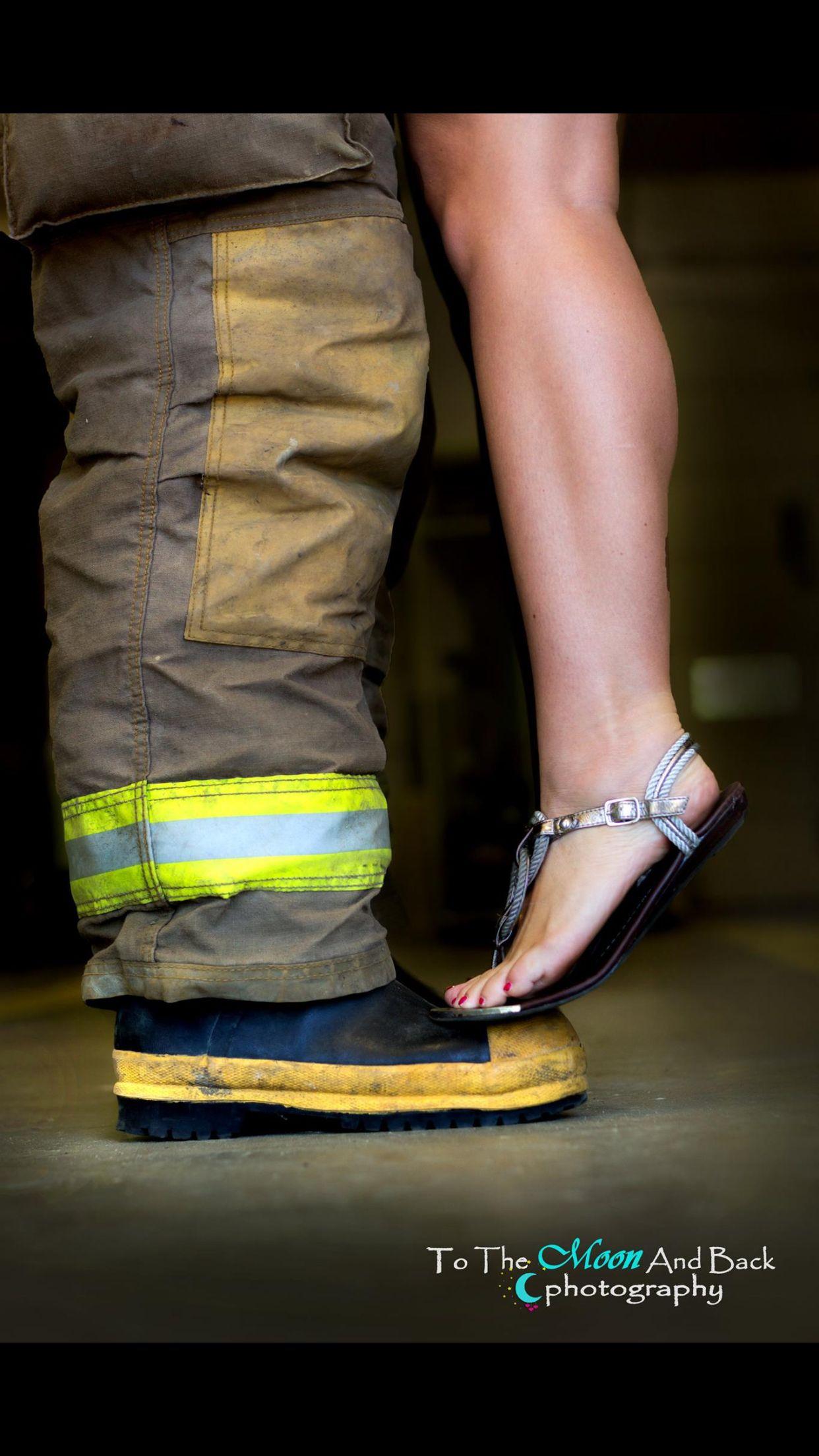 Fireman Couple Photos
