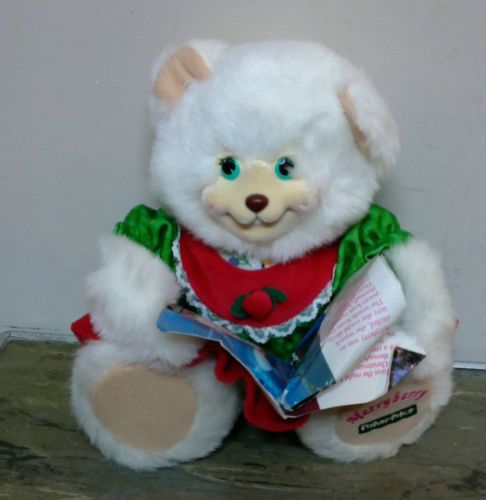 Fisher Price Briarberry Merryberry Bear Plush | eBay