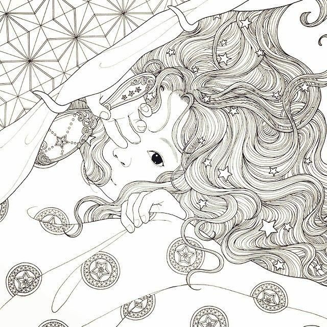 Daria Song | ✐ coloring pages (from 3 to 99) ✐ | Pinterest ...
