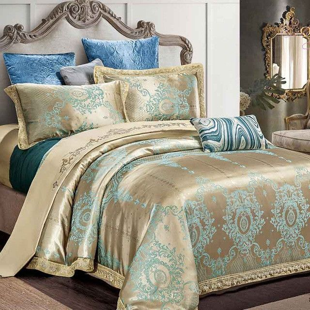 Luxury Bedding Set Cotton Comfortable Duvet Cover Bed Sheet Palace Luxury Bedding Luxury Bedding Set Luxury Bedding Sets