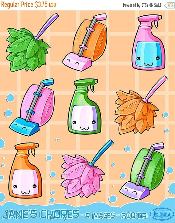 32+ Cleaning supplies clipart png information