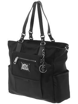 Juicy Couture Weekend Warrior Nylon Baby Bag