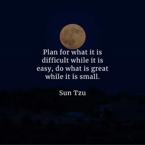 47 Famous quotes and sayings by Sun Tzu