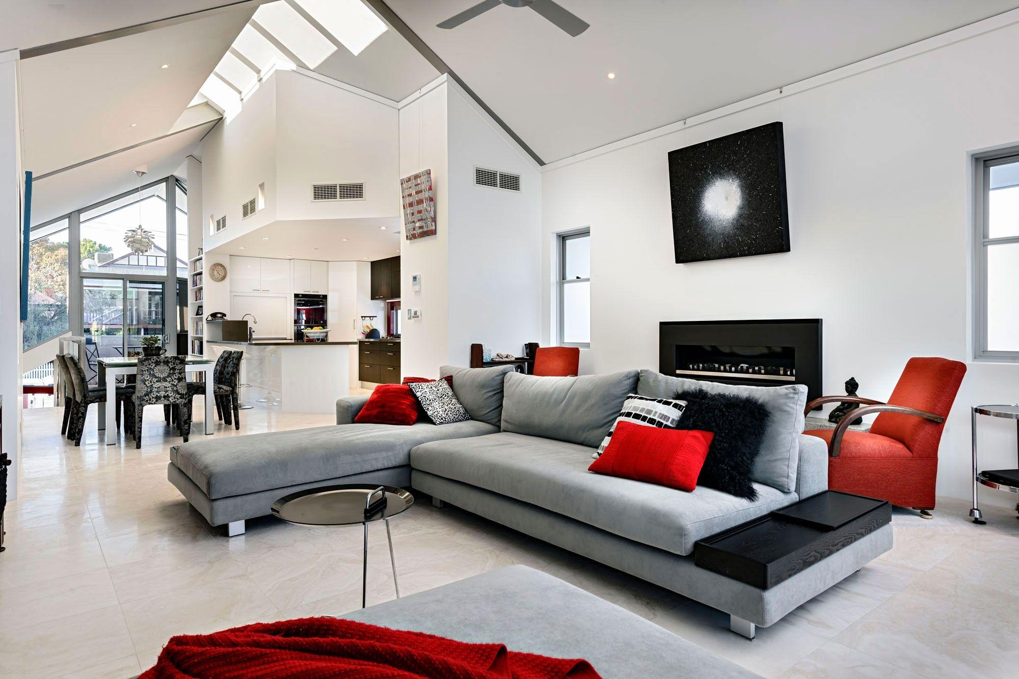 Grey White Red Living Room Ideas Living Room Grey Grey And Red Living Room Living Room Red
