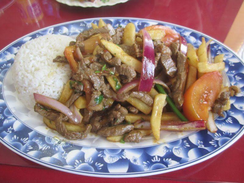 Lomo Saltado From Don Julio Elizabeth Nj Food Lomo Saltado Beef