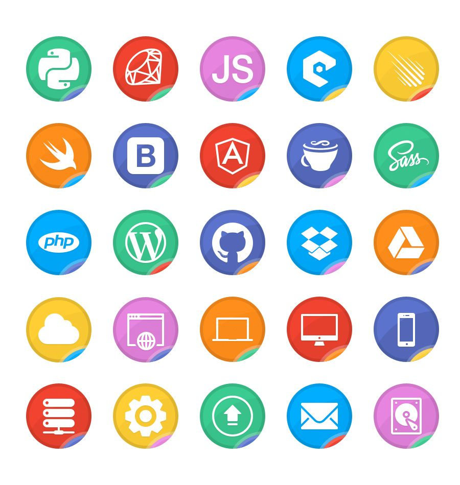 Dev Up A Free Web Developer Icon Set Fribly Developer Icon Free Web Free Graphic Design