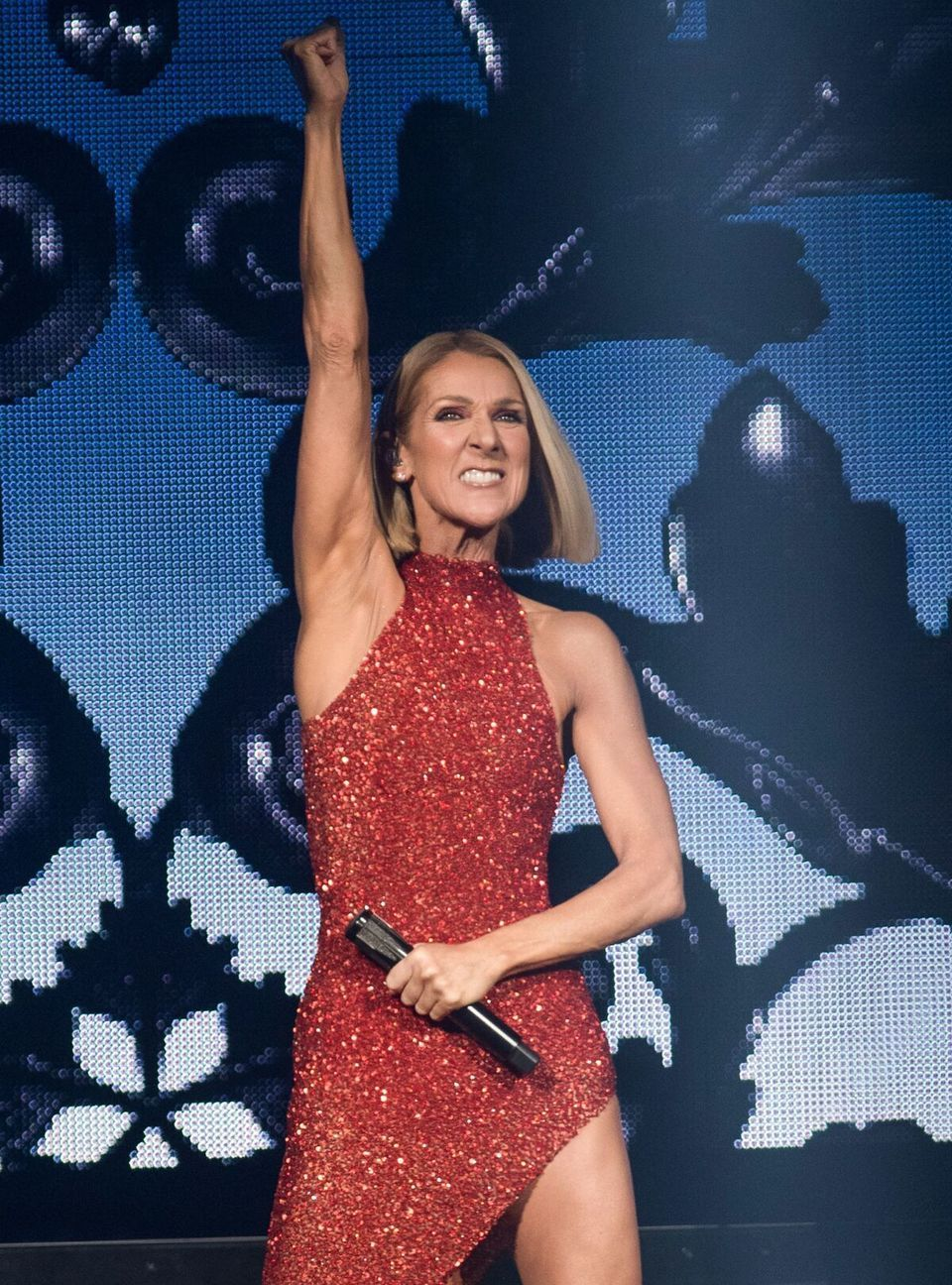 Celine Dion Amorce Son Courage World Tour Mercredi Soir Au Centre Videotron A Quebec Celine Dion Celebrities Female Celine Deon