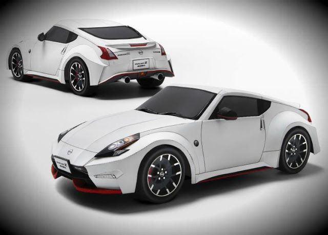 If You Want To Build Your Own Paper Model Of The Nissan Fairlady Nismo In 1 18 Scale Will Need Print Six Sheets Offe