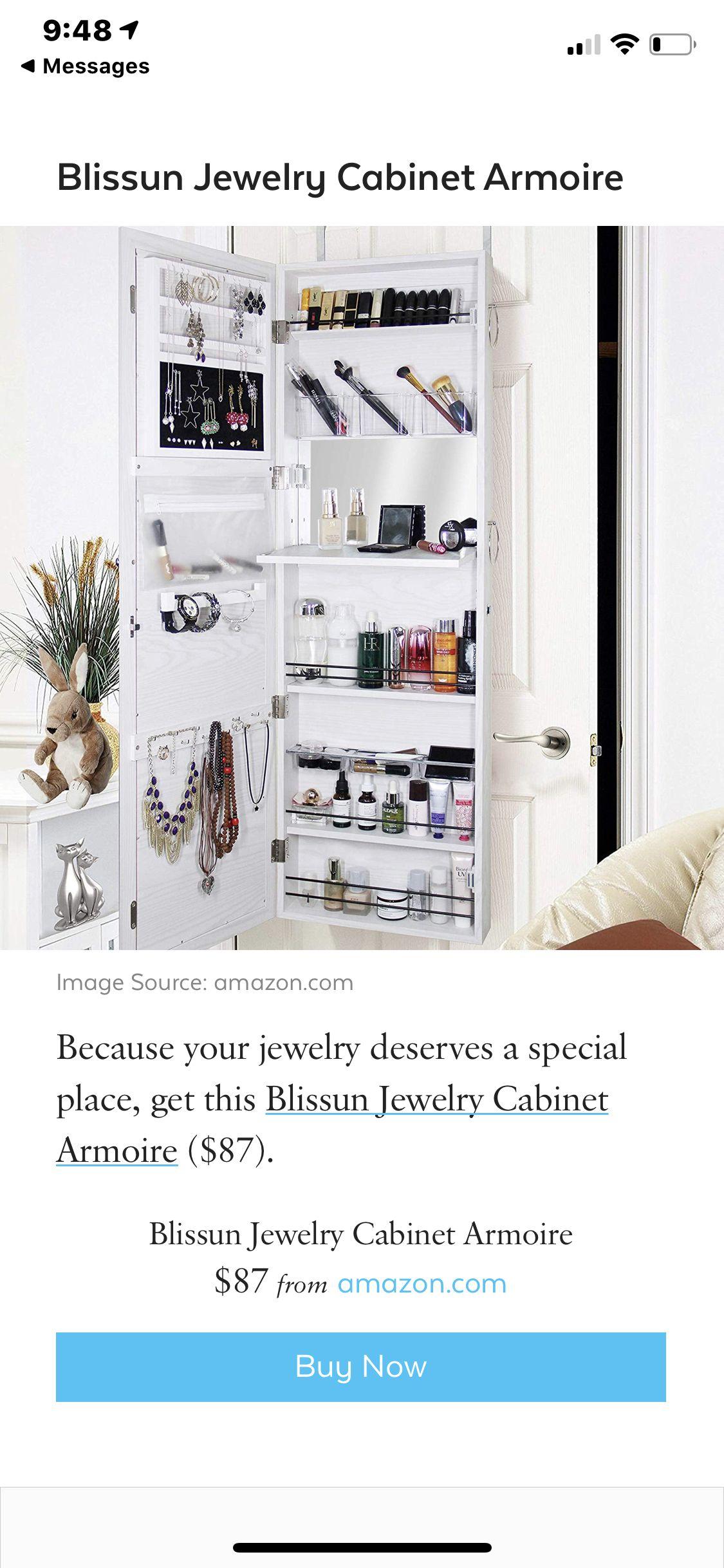 Pin By Brittin Dawson On Buy Jewelry Cabinet Stuff To