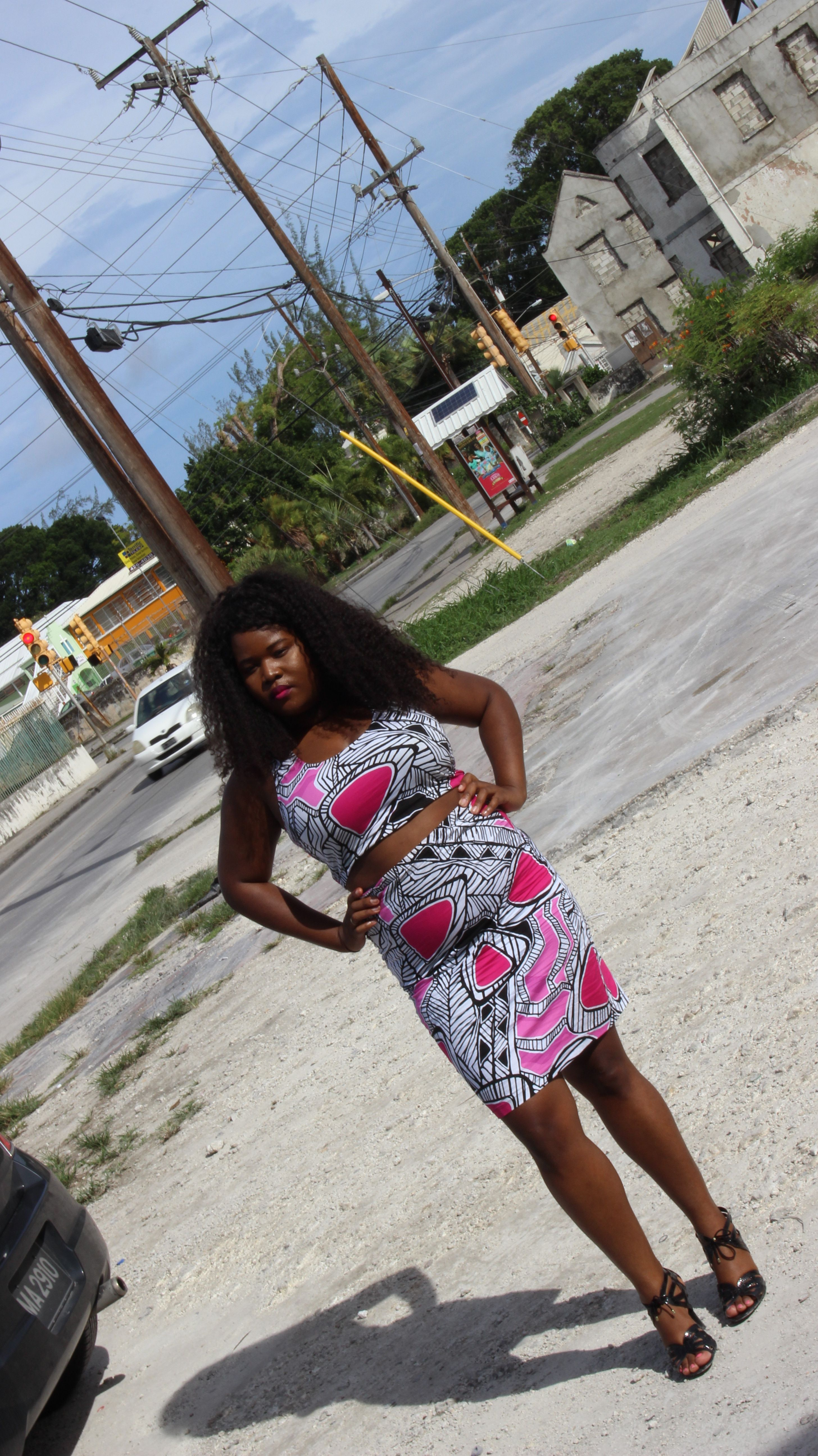 New Post on # BBBG http://www.bigbeautifulblackgirls.com/my-style-frolicking-around-town-in-gianni-mercedes/