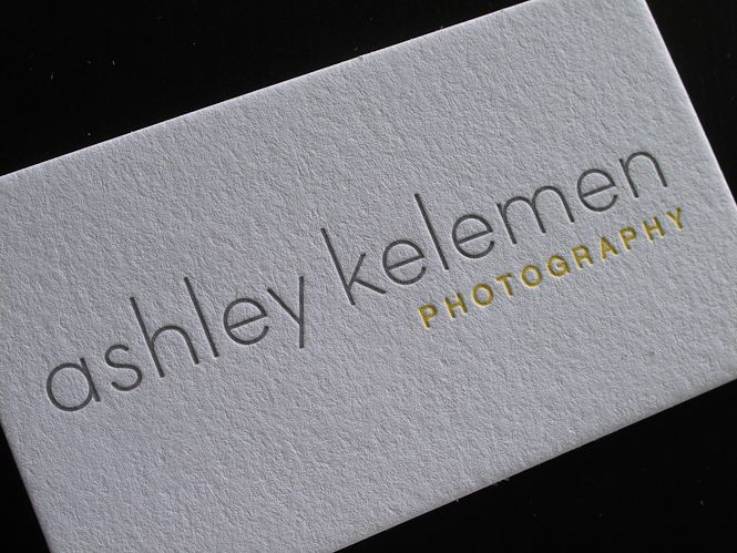 Letterpress photography business cards business card ideas letterpress photography business cards reheart Gallery