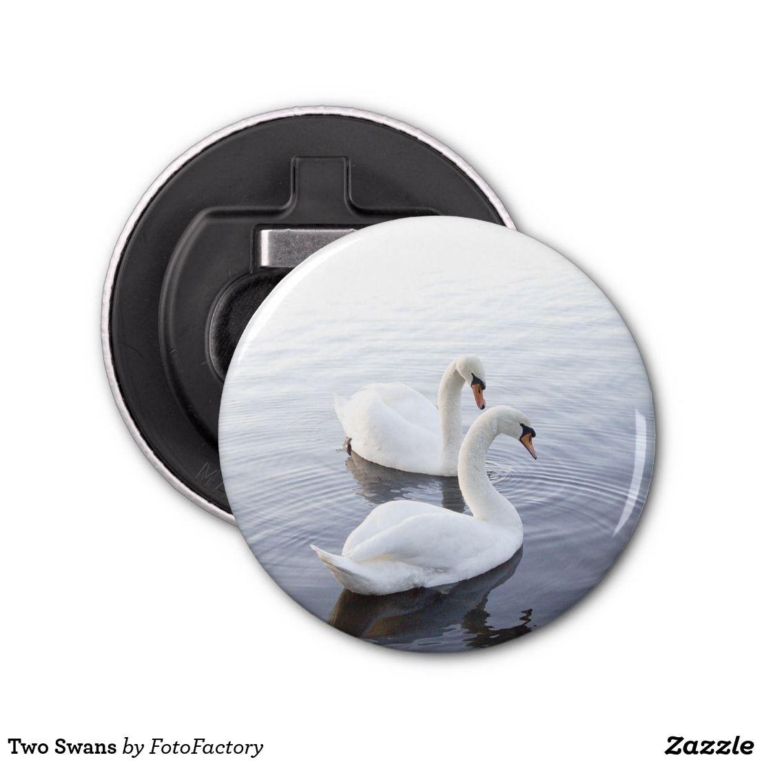 Two Swans Bottle Opener