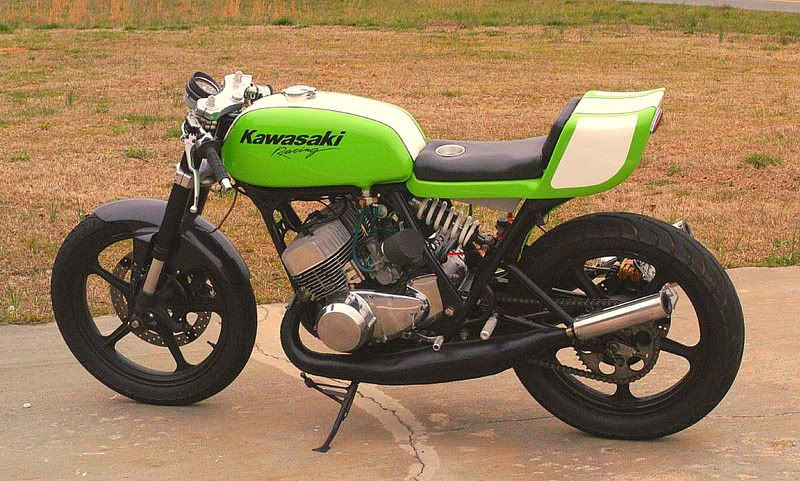 "1970s kawasaki h1 500 triple two stroke ""project h1"" a great bike"