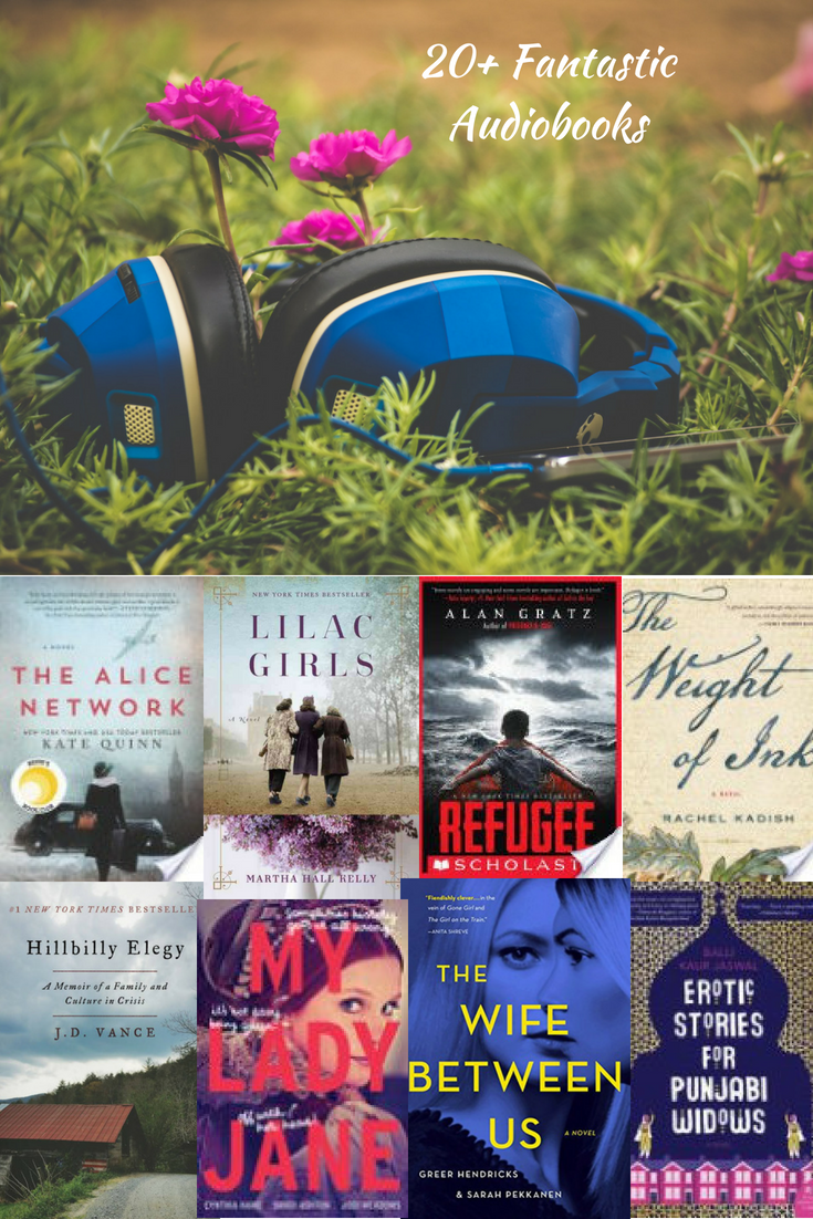 Celebrate Audiobook Month With 23 Of Our Favorite Audiobooks Beyond The Bookends Book Blogger Audiobooks Audio Books