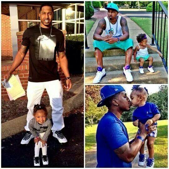 Schwarze auf Papas