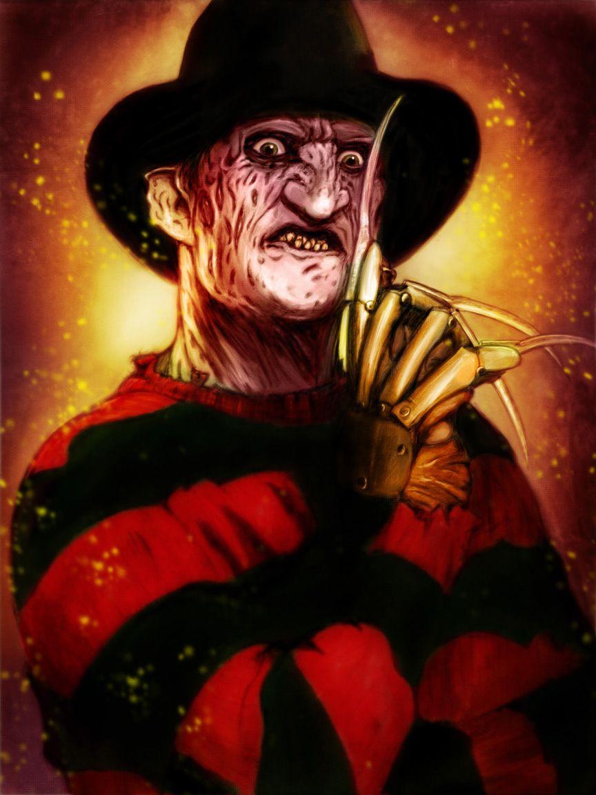 Freddy Krueger Art Freddy Krueger By Johnbranhamart On