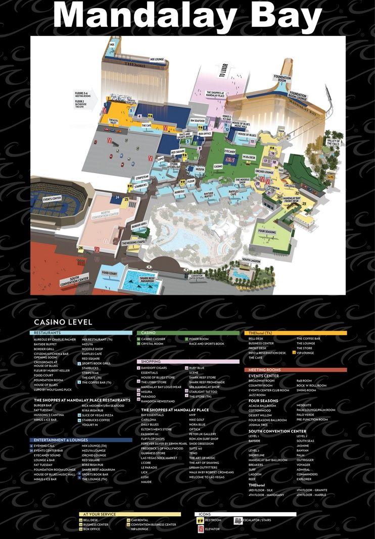 Mandalay Bay Event Center Map : mandalay, event, center