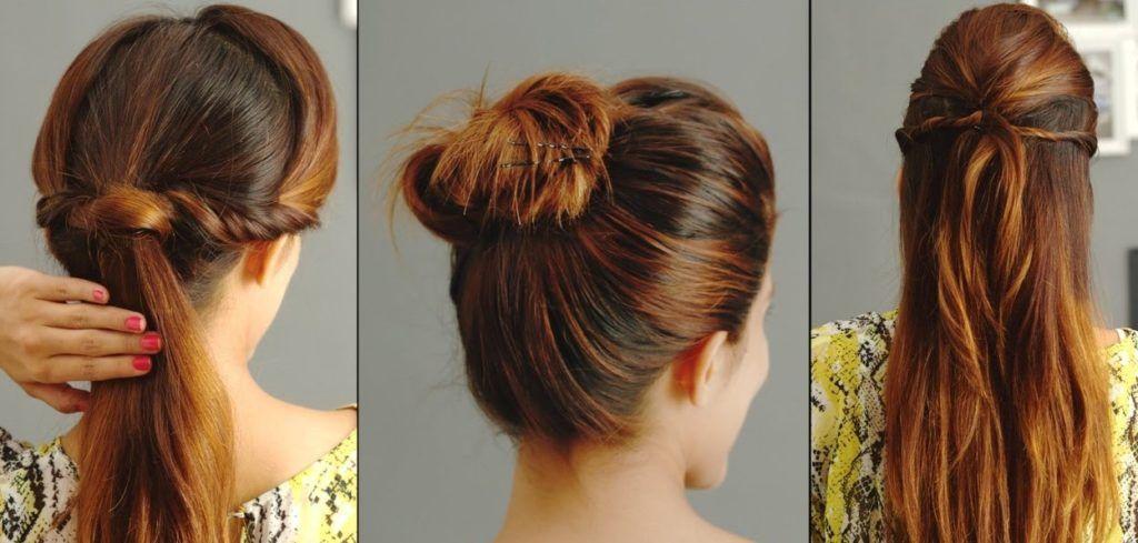 einfache frisuren fettige haare