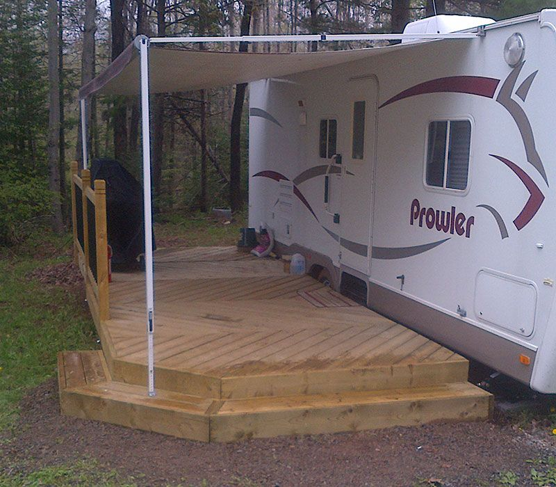 rv decks google search rv living pinterest camper camping