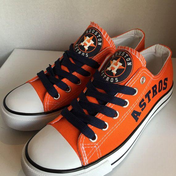 353e652ea634 Houston Astros women s tennis shoes by sportzshoeking on Etsy ...