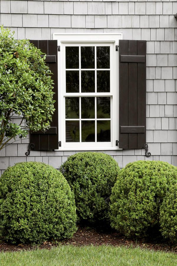 pour on the cottage charm cedar shutters batten and curb appeal
