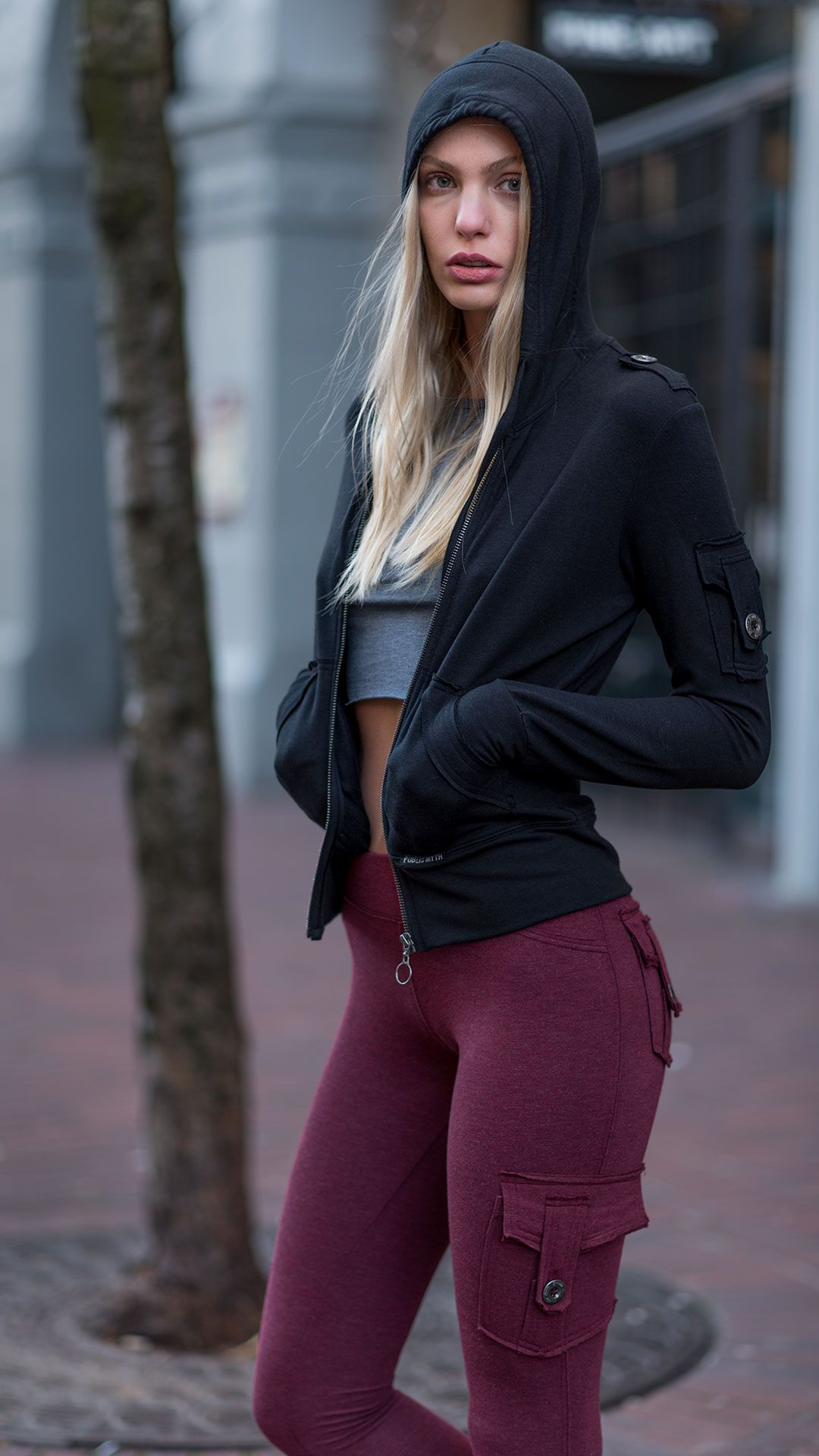 1b53c7a6d40c4 Pictured here is our best-seller, the Bamboo Pocket Leggings, paired with  our Bamboo Crop Top & Bamboo Pocket Hoodie. Bamboo is a natural  eco-friendly ...