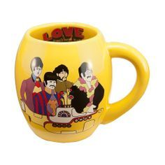 The Beatles Mug Yellow Submarine I Would Literally Drink More Hot Chocolate Just To Use This Mug Mugs Yellow Submarine The Beatles