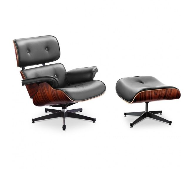 Charles And Ray Eames Eames Lounge Chair Mit Ottoman Lounge