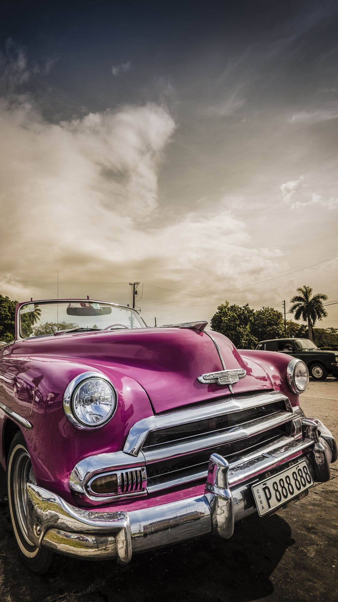 Retro Car Wallpaper For Your Iphone 6 From Everpix In 2019
