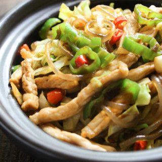 Tasty Stir-fried Rice Noodle