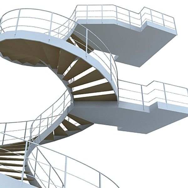 Best 3D Spiral Staircase Model Spiral Staircase Staircase 640 x 480