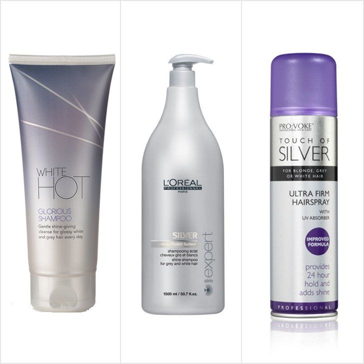 L Oreal Professionnel Serie Expert Silver Shampoo And Pump Natural Gray Hair Shampoo For Gray Hair Grey Hair Care