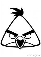Angry Birds Coloring Pages On Coloring Book Info Bird Coloring