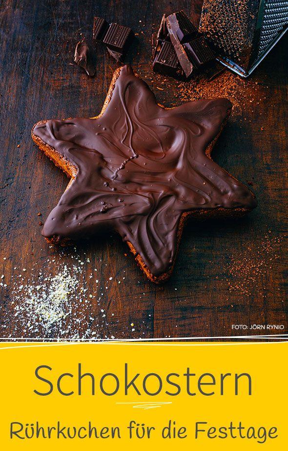 Unser Weihnachtskuchen mit Zack! Sieht nicht nur super aus, schmeckt auch noch lecker. Unser einfaches Rezept für alle Hobby-Weihnachtsbäcker.
