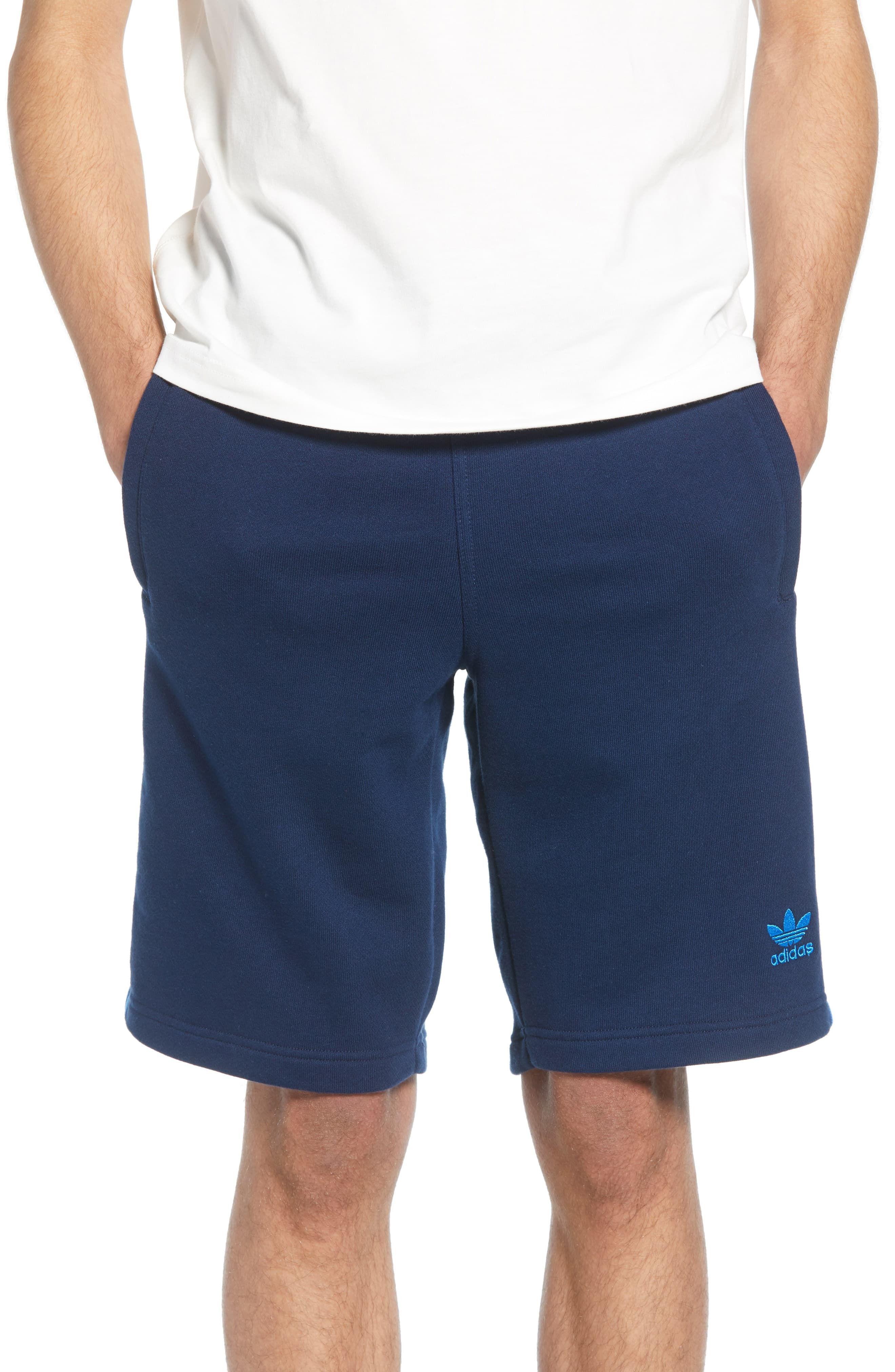 fa1a54aade939 Men's Adidas Originals 3-Stripes Athletic Shorts, Size Small - Blue ...