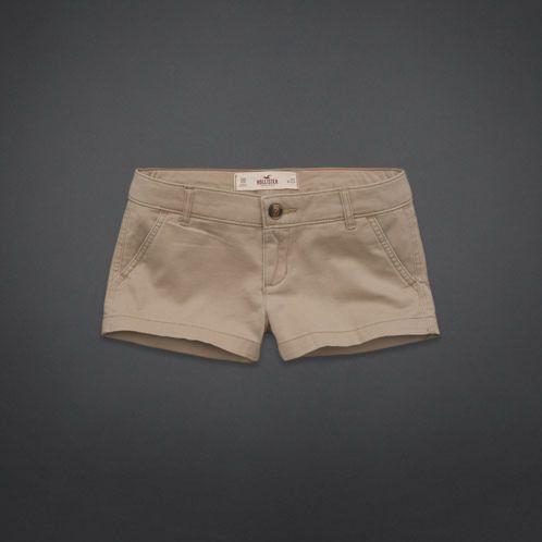 Hollister Low Rise Short- Khaki | Jeans and Shorts | Pinterest ...