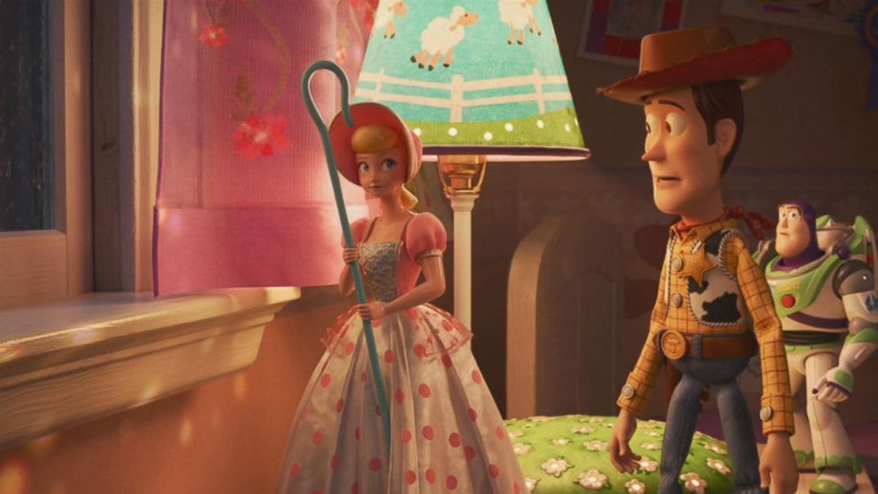 Little Bo Peep Voiced By Annie Potts Is Back For Toy Story 4 Toy Story Bo Peep Pixar