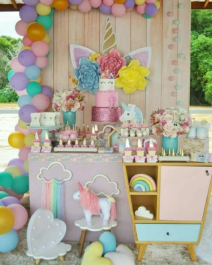 Uncornio Unicorn Theme Party Unicorn Themed Birthday Party Unicorn Pool Party