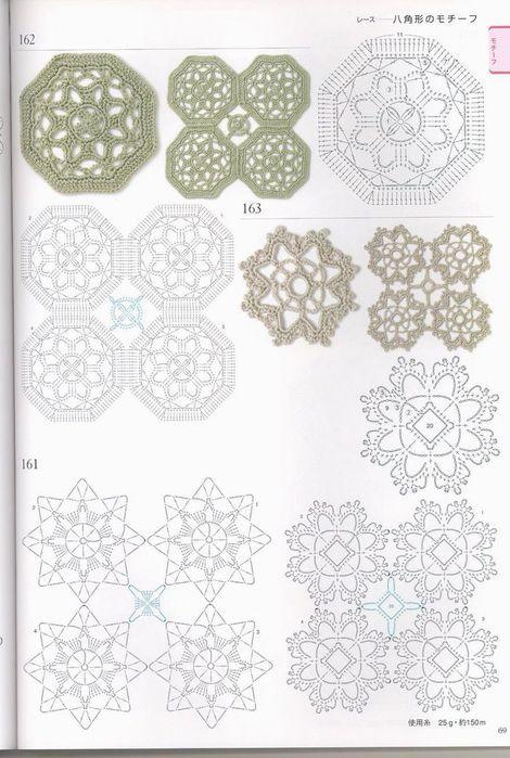 Ideas para el hogar: Patrones de la abuela en crochet   crochet ...