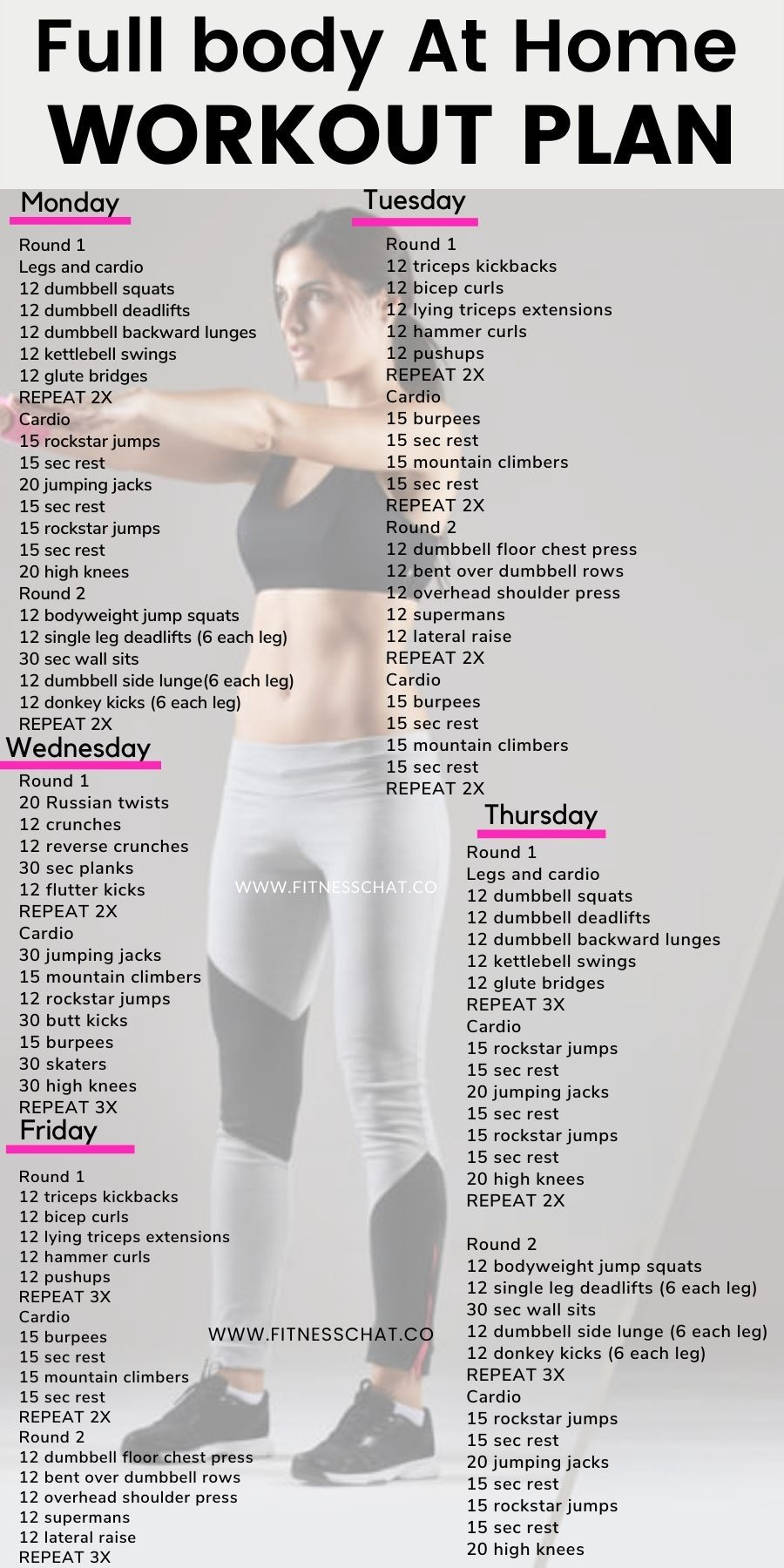 at home workout plans Check out this free home wor