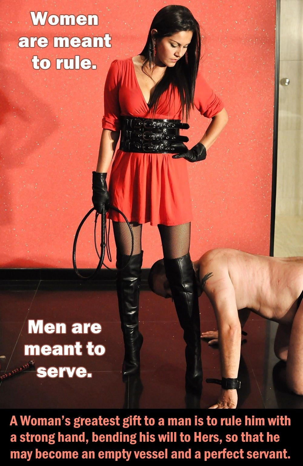 Im A Male Who Advocate Female Supremacy All Males Should -7691