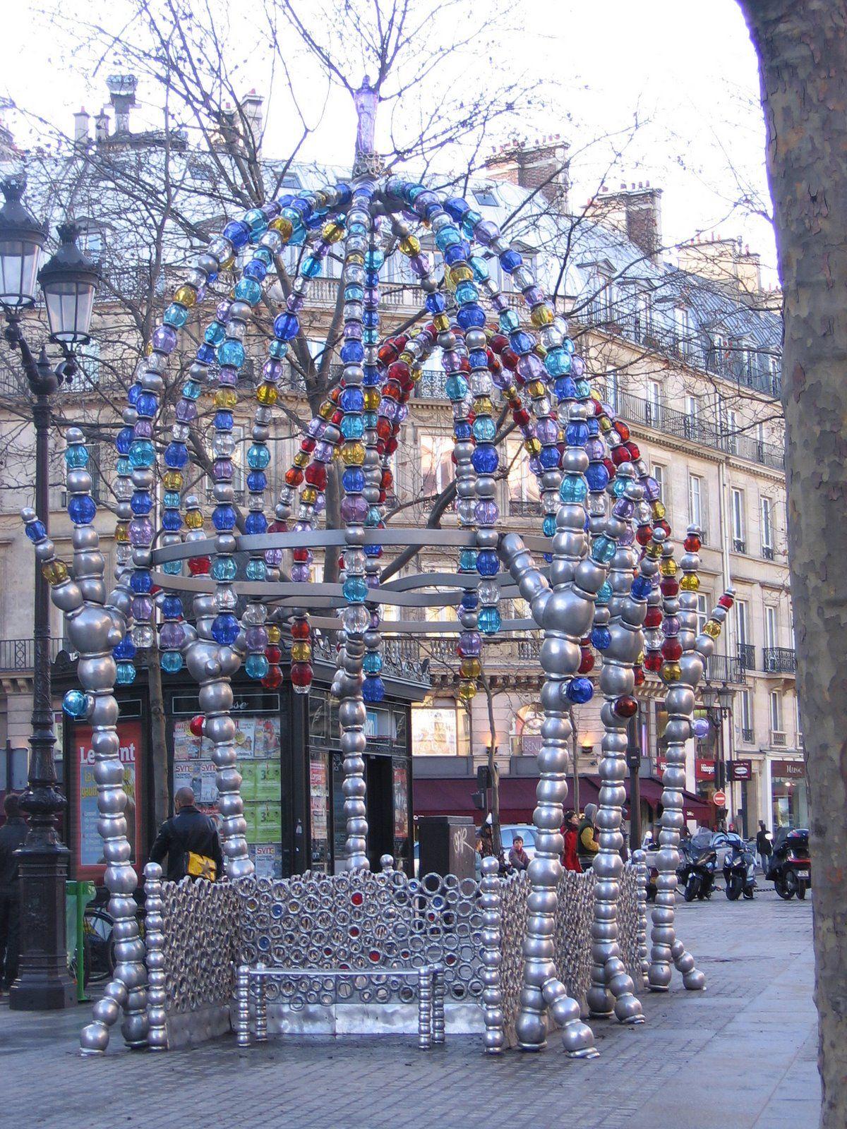 Jean Michel Othoniel Public Art Art Paris Metro