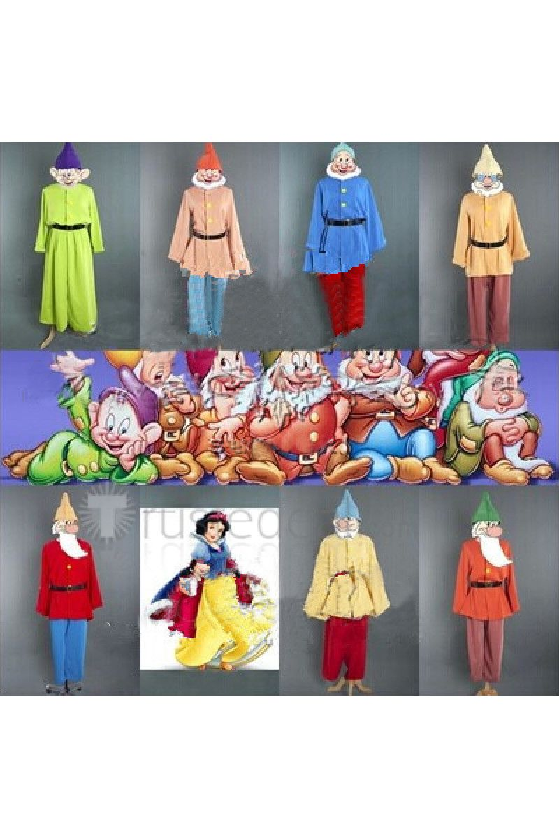 Snow White And The Seven Dwarfs Dwarf Cosplay Costume From Snow White