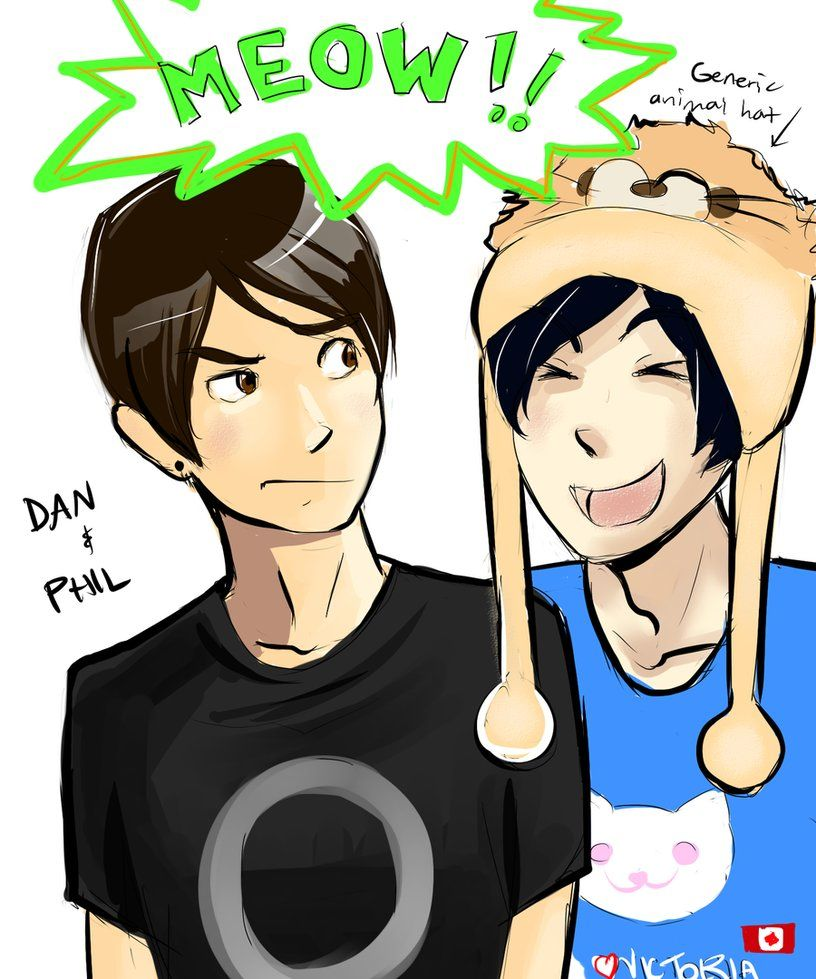 Dan And Phil By Fluffy Fuzzy Ears On Deviantart Dan And Phil Fanart Dan And Phil Phil
